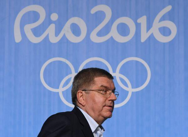 Глава Международного олимпийского комитета Томас Бах