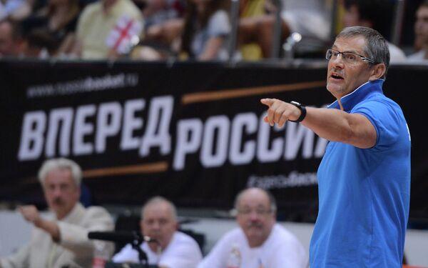 Главный тренер сборной России по баскетболу Сергей Базаревич