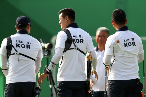 Лучники сборной Южной Кореи