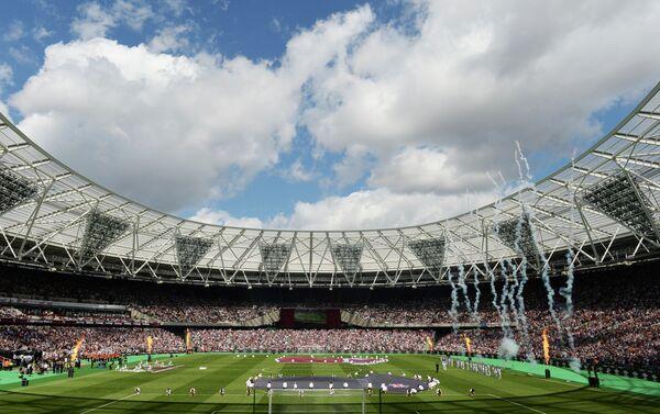 Открытие Олимпийского стадиона в Лондоне, который после реконструкции стал домашней ареной Вест Хэма