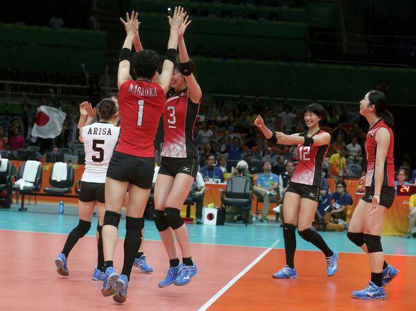 Японские волейболистки