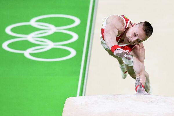 Российский гимнаст Денис Аблязин