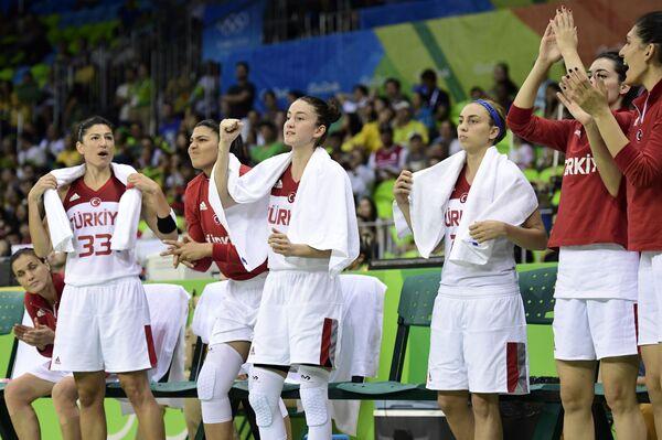 Баскетболистки сборной Турции
