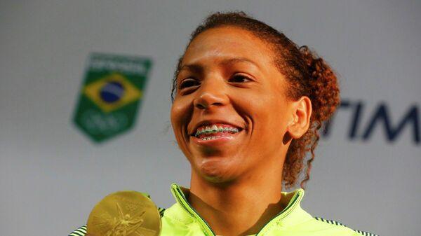 Бразильская дзюдоистка Рафаэла Силва