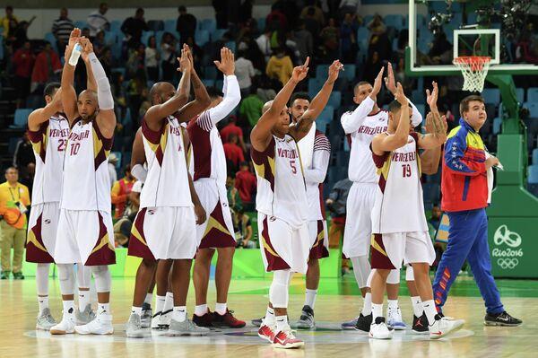 Баскетболисты сборной Венесуэлы
