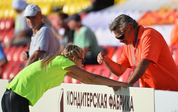 Дарья Клишина и Лорен Сигрейв