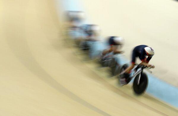 Женская команда Великобритании в велоспорте на треке