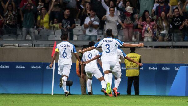 Футболисты сборной Гондураса