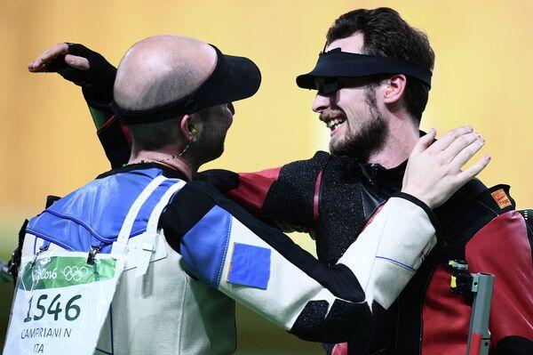 Никколо Камприани (Италия) (слева) и Сергей Каменский (Россия)