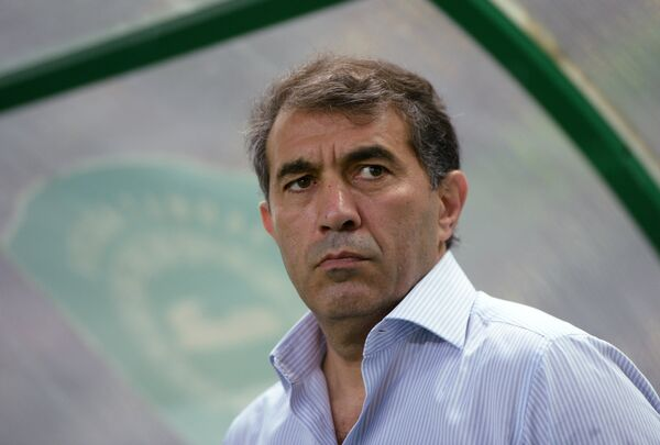 Главный тренер ФК Терек Рашид Рахимов