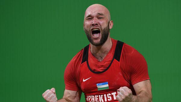 Тяжелоатлет Руслан Нурудинов из Узбекистана
