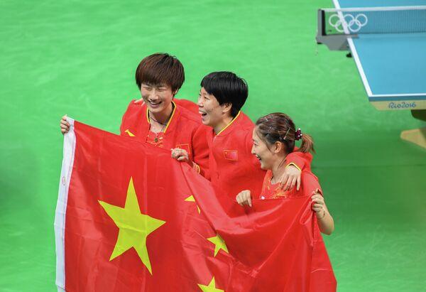 Женская сборная Китая по настольному теннису