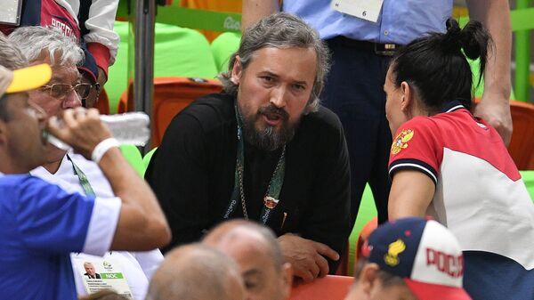 Духовный наставник олимпийской сборной России, протоиерей Андрей Алексеев