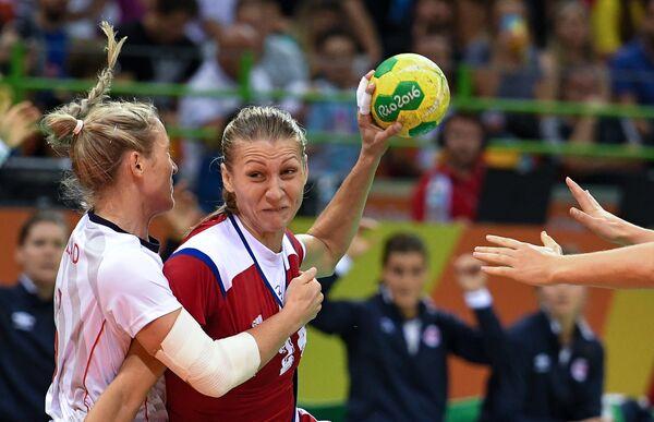 Ирина Близнова (справа) и Ида Альстад