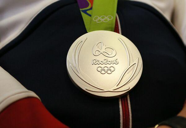 Серебряная медаль ОИ-2016 в Рио