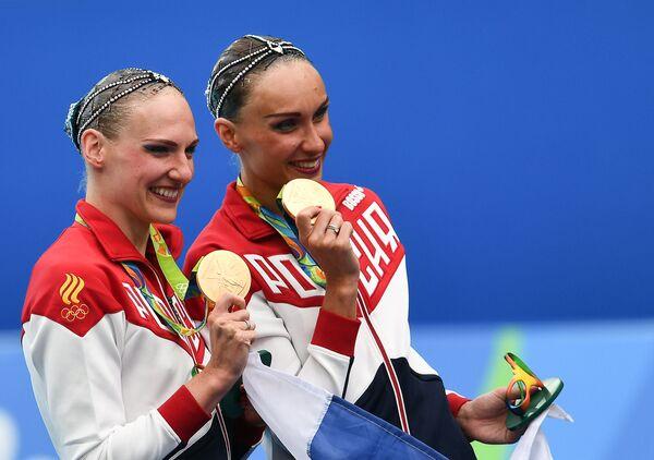 Светлана Ромашина и Наталья Ищенко
