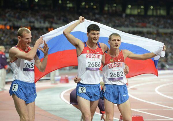 Российские паралимпийцы