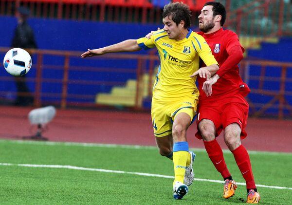 Тимофей Маргасов (слева) и Аслан Дудиев