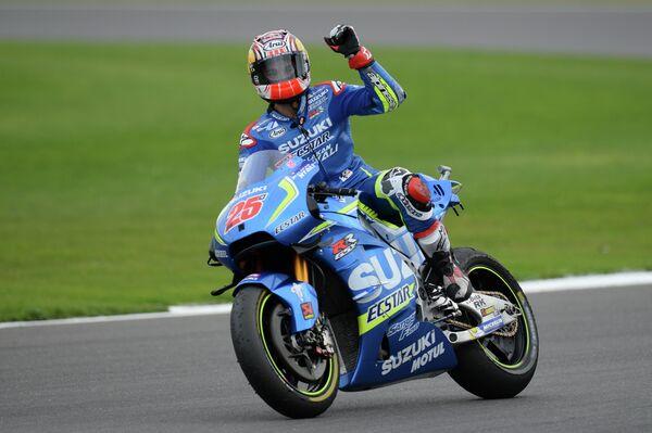 Испанский гонщик Маверик Виналес из команды Suzuki Ecstar