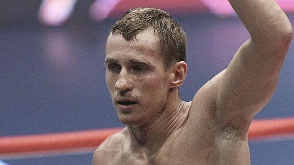 Трояновский: у меня есть амбиции вновь побороться за чемпионский пояс
