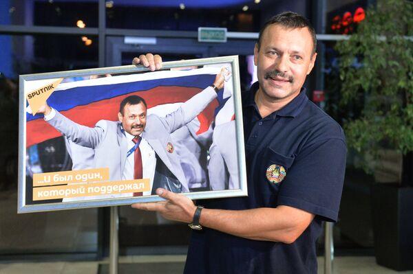 Член белорусской сборной А. Фомочкин