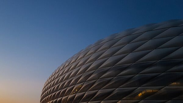 Стадион Альянц-Арена в Мюнхене