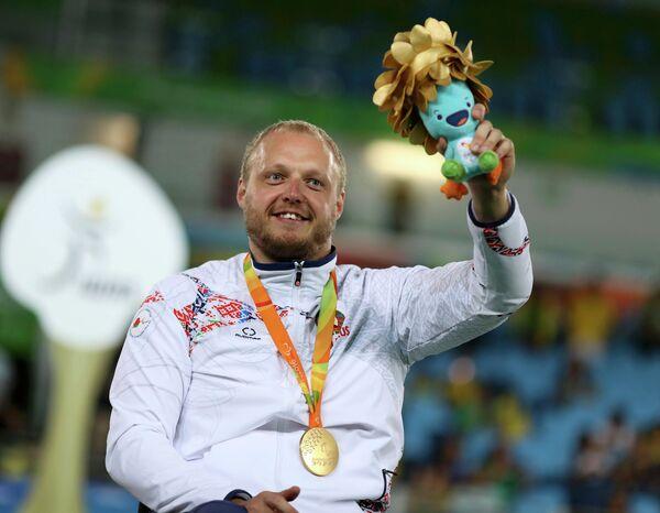 Белорусский паралимпиец Андрей Праневич