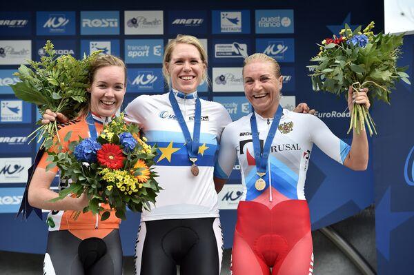 Двукратный бронзовый призер Олимпиады-2012 и серебряный призер Игр-2016 россиянка Ольга Забелинская (справа)