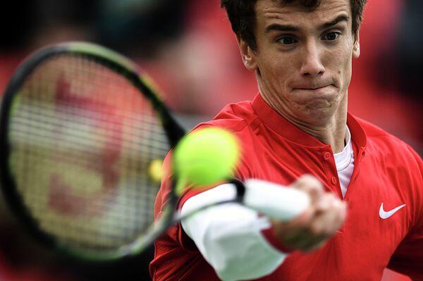 Теннисист сборной России Андрей Кузнецов
