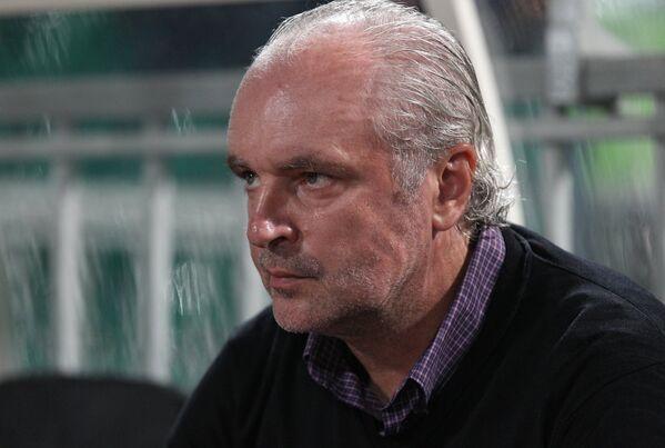 Исполняющий обязанности главного тренера ФК Краснодар Игорь Шалимов