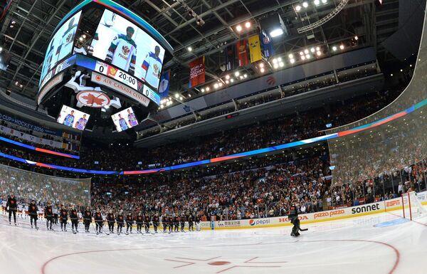 Хоккеисты сборной Северной Америки U23