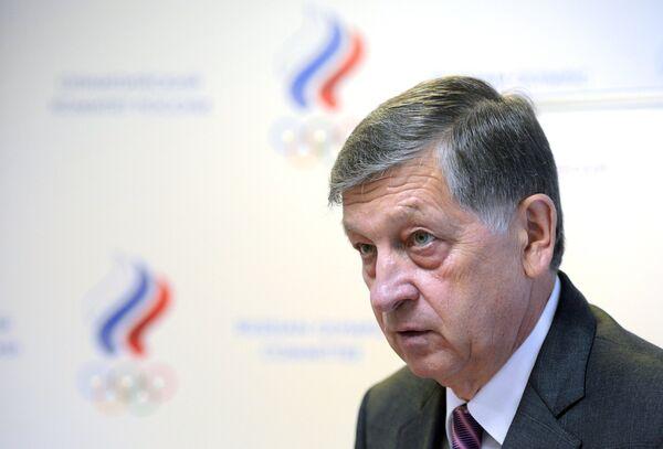 Начальник Главного управления по обеспечению участия в Олимпийских играх Олимпийского комитета России Игорь Казиков