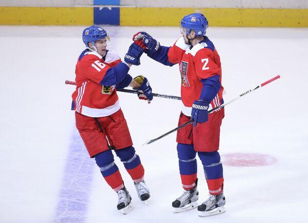 Збынек Михалек (справа) и Ондржей Палат
