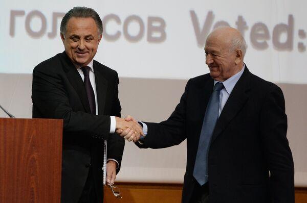 Виталий Мутко (слева) и Никита Симонян