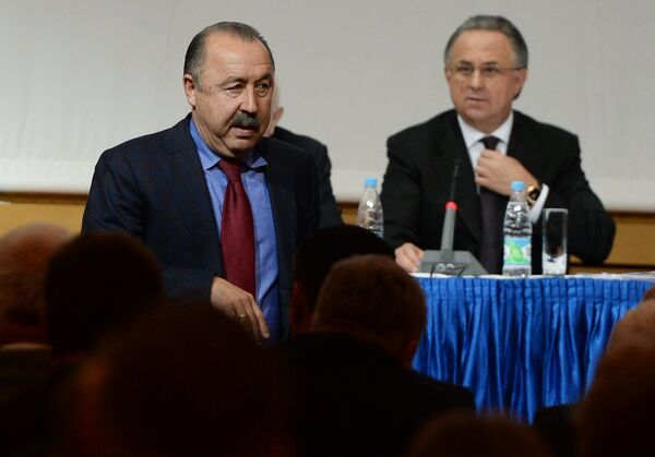 Валерий Газзаев (слева) и Виталий Мутко