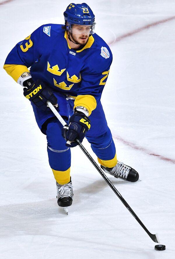 Защитник сборной Швеции Оливер Экман-Ларссон