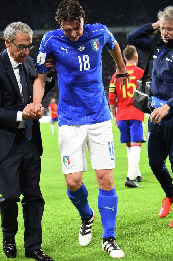 Полузащитник Милана и сборной Италии Риккардо Монтоливо
