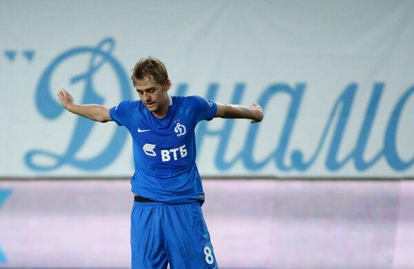 Нападающий ФК Динамо Кирилл Панченко