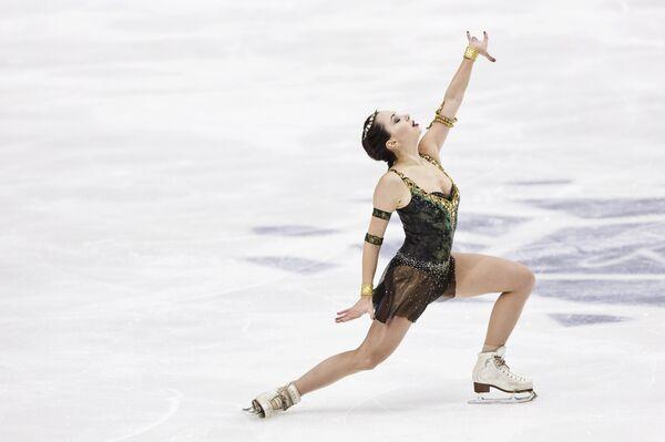 Елизавета Туктамышева на турнире Finlandia Trophy