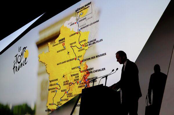 Презентация маршрута Тур де Франс-2017