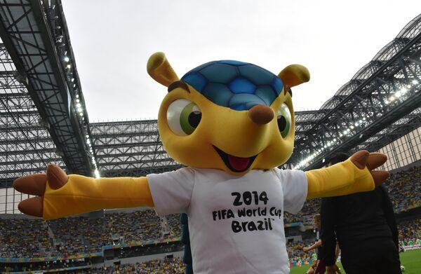 Талисман чемпионата мира по футболу 2014 года в Бразилии Фулеко