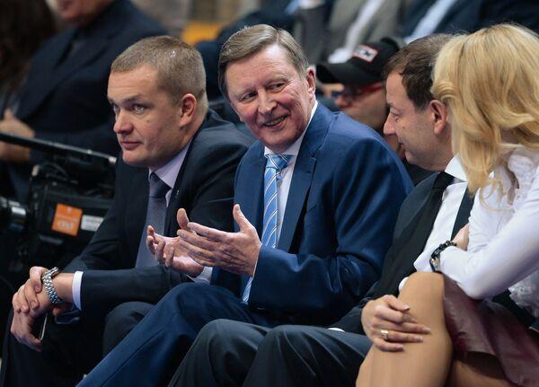 Андрей Ватутин, Сергей Иванов, Сергей Кущенко и Илона Корстин (слева направо)