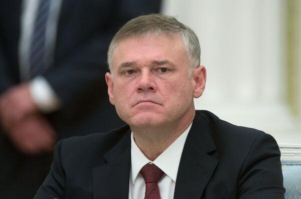Председатель совета директоров группы Evraz Александр Абрамов