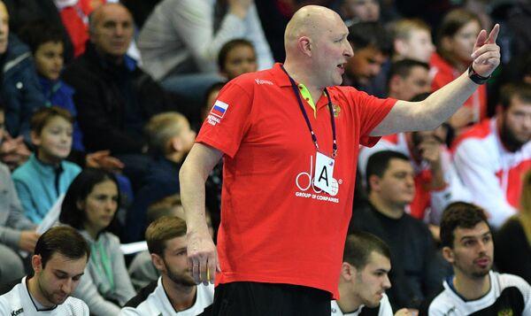 Главный тренер сборной России Дмитрий Торгованов