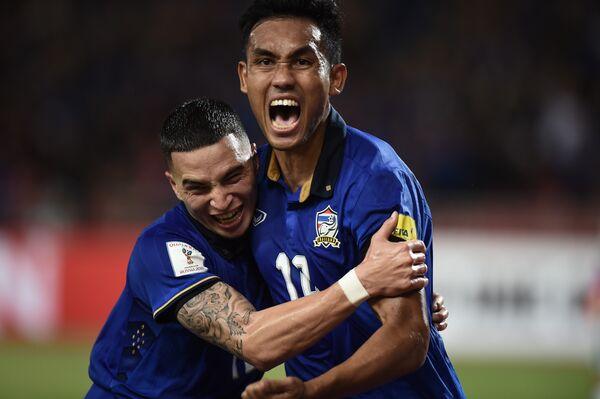 Футболисты сборной Таиланда