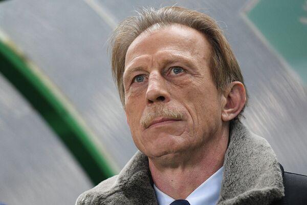 Главный тренер сборной Румынии Кристоф Даум