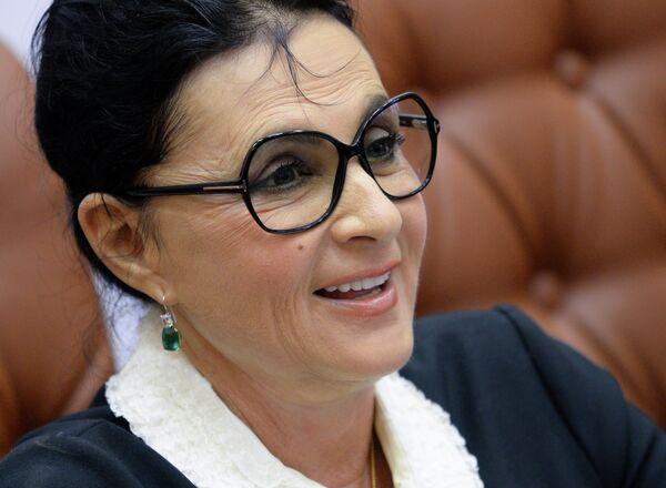 Президент Всероссийской федерации художественной гимнастики Ирина Винер-Усманова