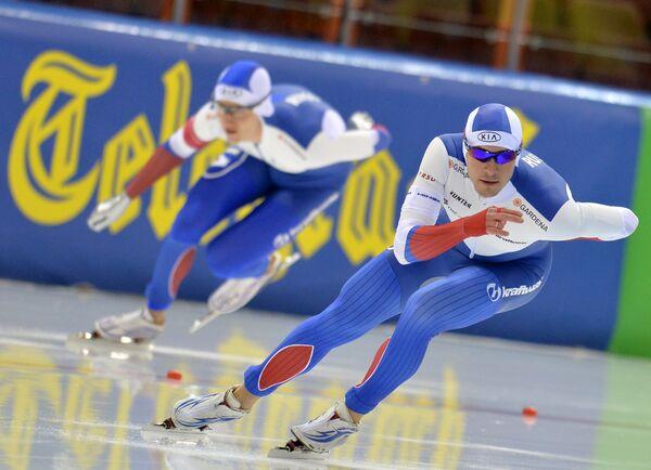 Справа налево: Сергей Грязцов (Россия) и Сергей Трофимов (Россия)