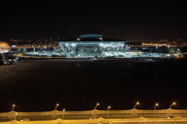 Строительство стадиона Санкт-Петербург