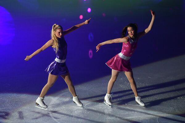 Слева направо: Рейчел Парсонс и Лоррейн Макнамара (США)